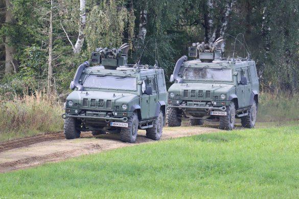 Die GMF Husar werden unter Feuer genommen © Doppeladler.com