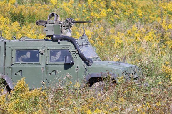 Geschütztes Mehrzweckfahrzeug GMF Husar © Doppeladler.com