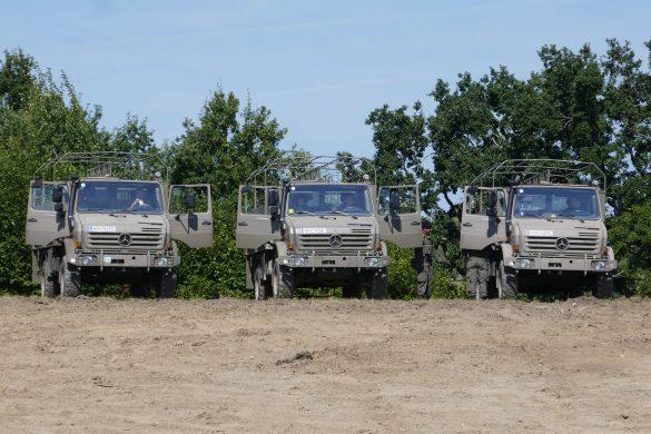 UNIMOG U 4000 ÖBH mit Rüstsätzen für den Mannschaftstransport © Doppeladler.com