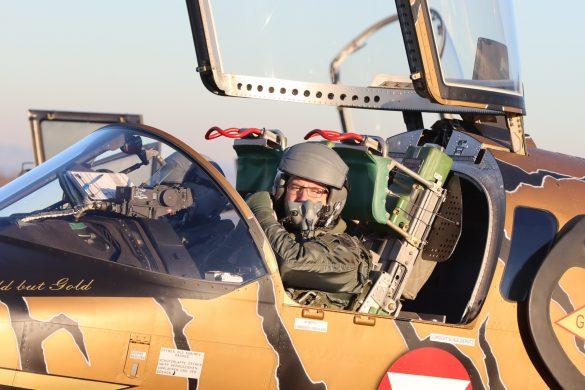Brigadier Gerfried Promberger, Kommandant der Luftraumüberwachung © Bundesheer