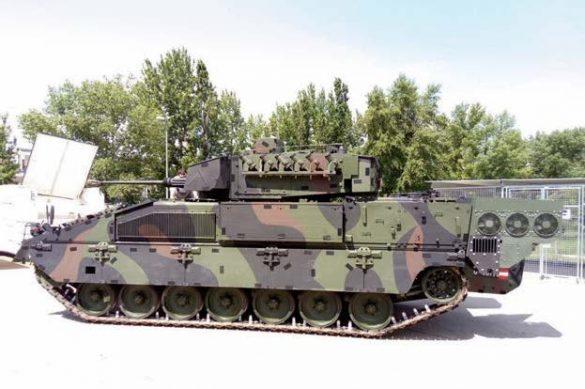 Schützenpanzer ULAN mit neuer Klimaanlage © Elbit Systems KINETICS