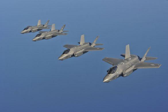 Lockheed Martin F-35A Lightning II der US Air Force © USAF