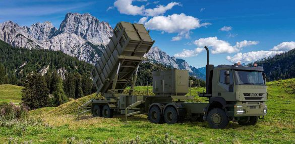 System Patriot zur bodengestützten Luftverteidigung größerer Reichweite © Raytheon